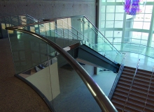 PanelGrip Glass Railing