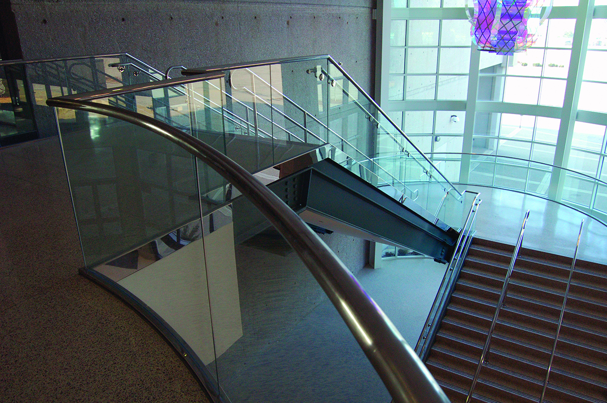 PanelGrip Glass Railing
