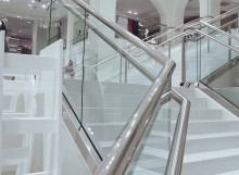 Retail PanelGrip Glass Railing
