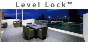 Level Lock Dry Glaze Glass Base Shoe Moulding