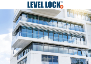 deck with level lock plus glass base shoe moulding